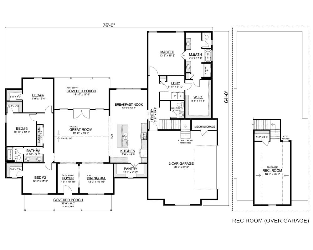 Silverdale Floor Plan