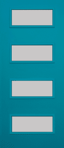 Code; CON2284 Exterior Door with 4-Lite