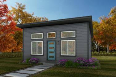 Centralia Home Plan - ADU 500