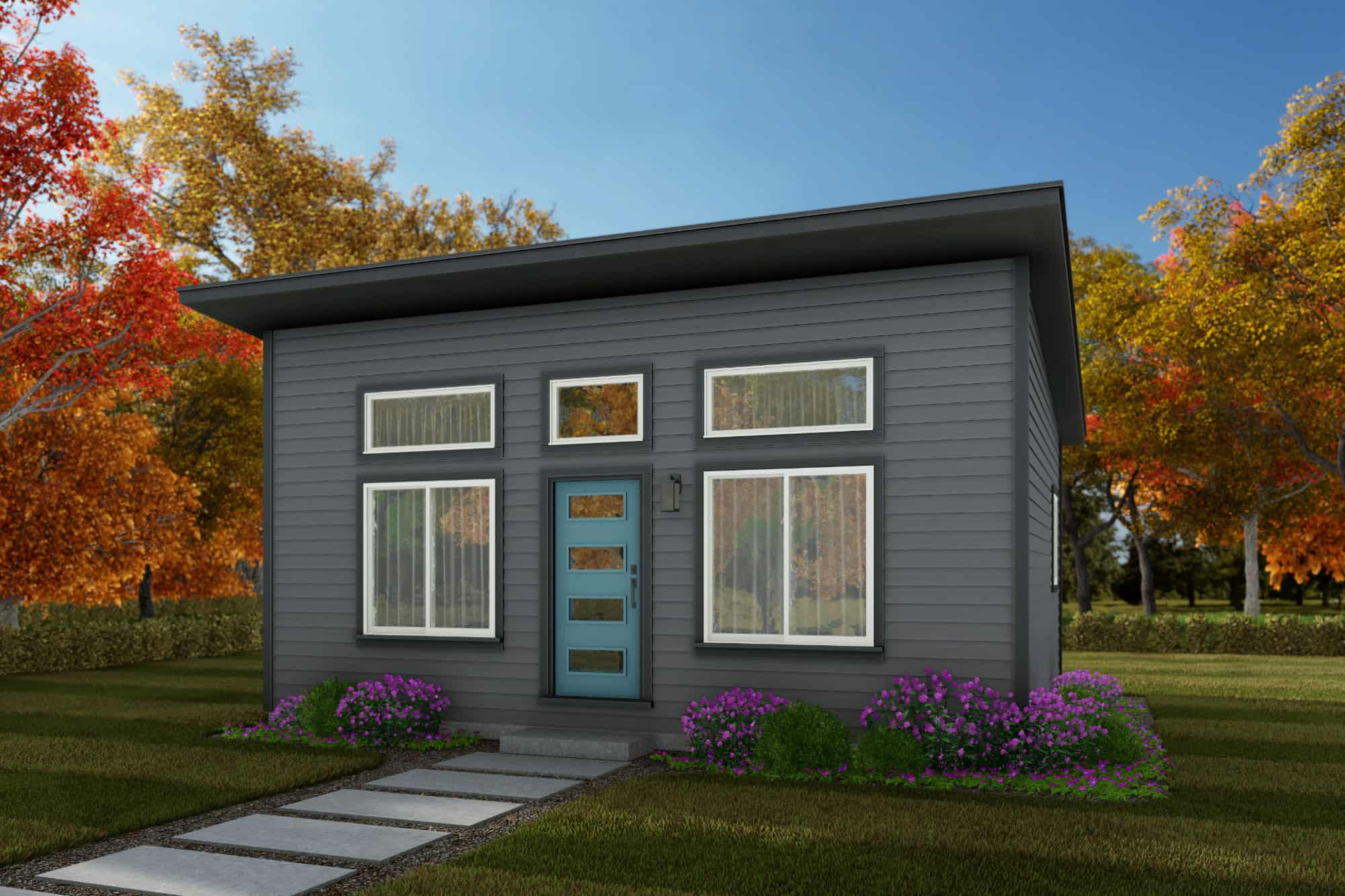 Centralia Home Plan - ADU 500