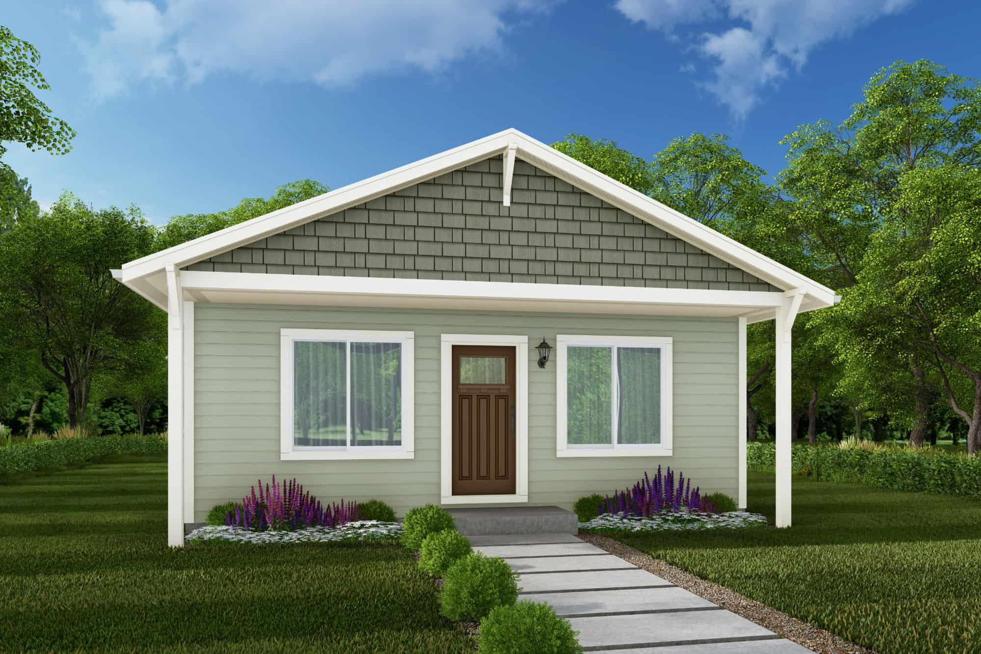 Chehalis Home Plan - ADU 500