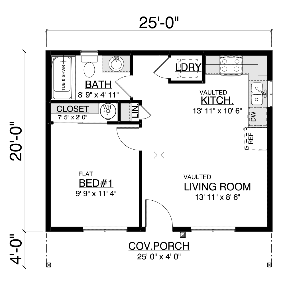 Chehalis Home Plan Layout