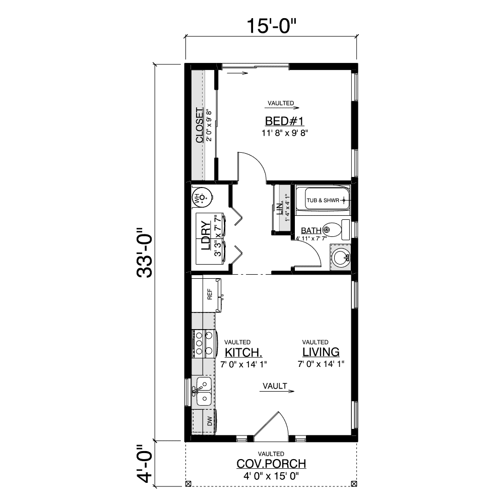 Fircrest Home Plan Layout