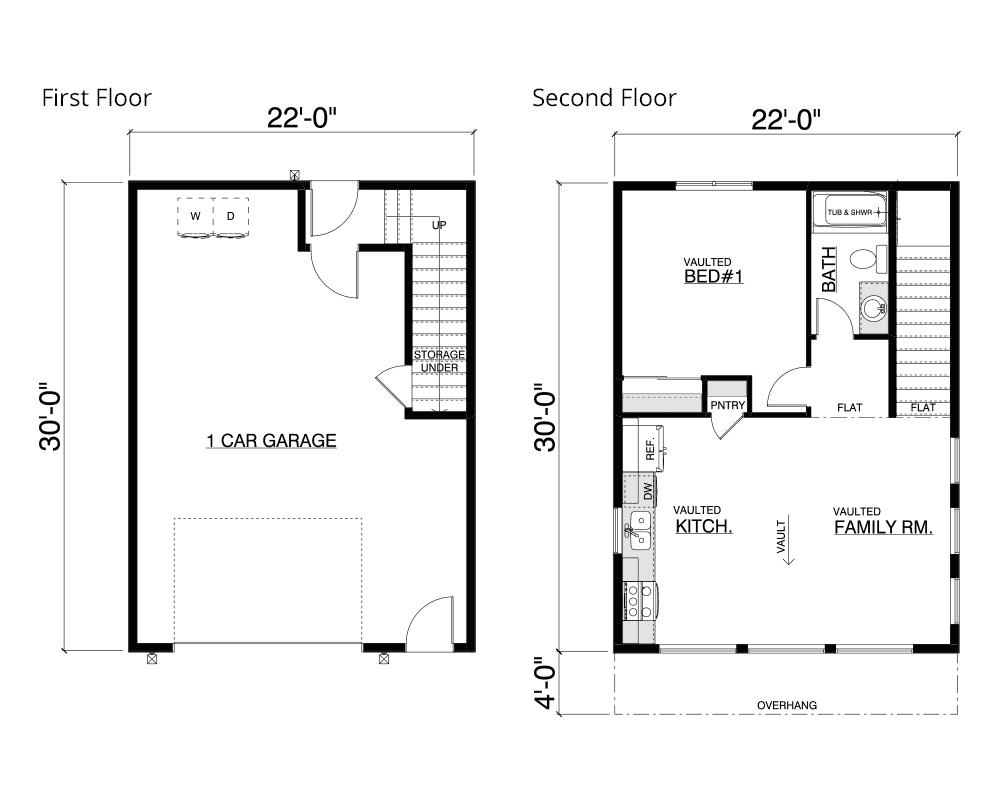 Keyport Home Plan Layout