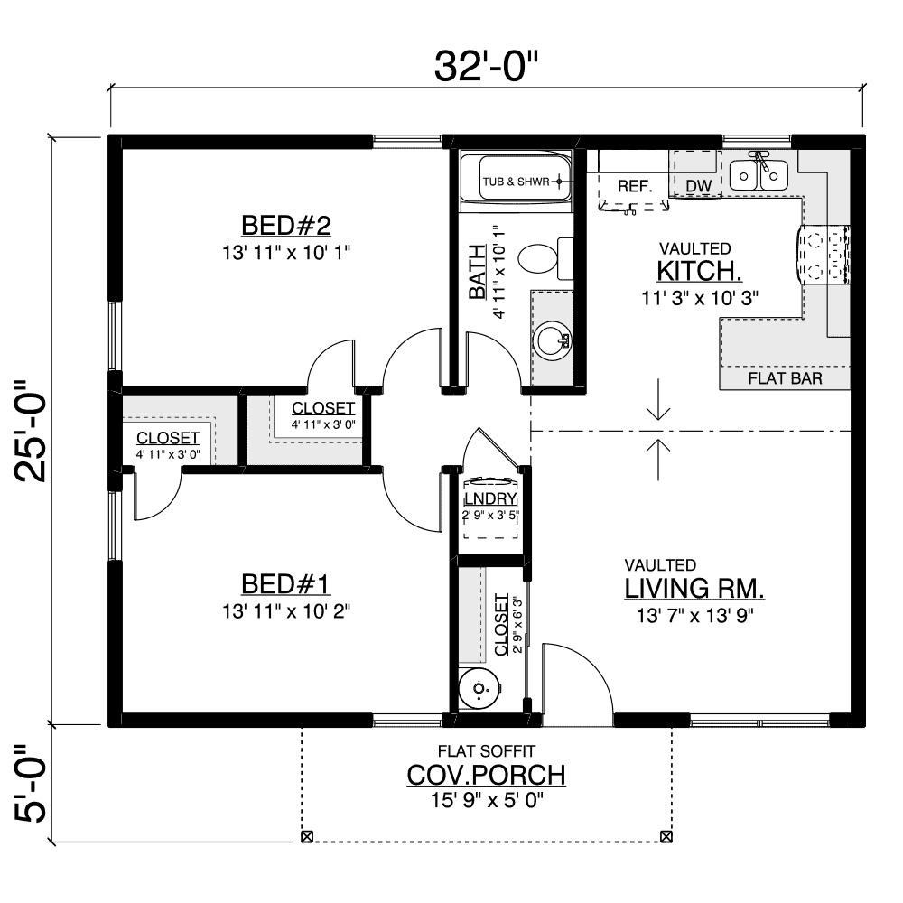 Lynnwood Home Plan Layout