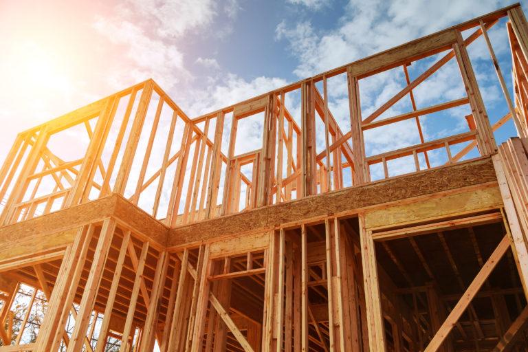 Lumber Framing Home Building