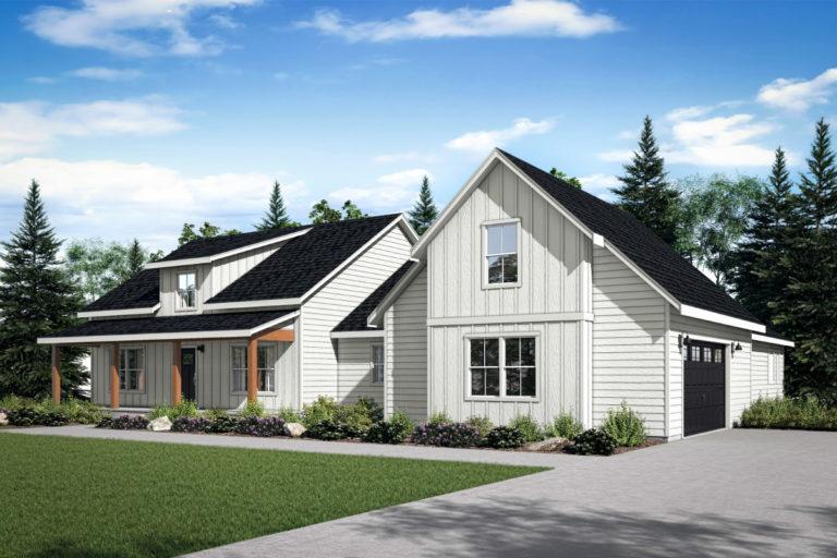 Silverdale Farmhouse Home Plan
